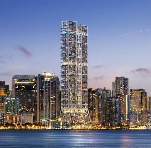 The Towers by Foster + Partners / Rendering by dbox