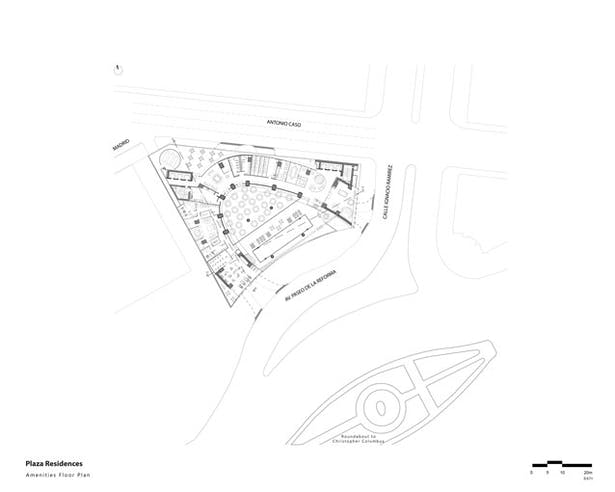 Amenities Floor Plan
