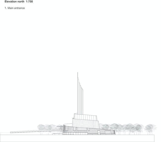 Elevation North (Image: schmidt hammer lassen architects)