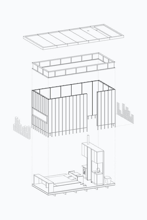 Trias Studio Slate Cabin D02