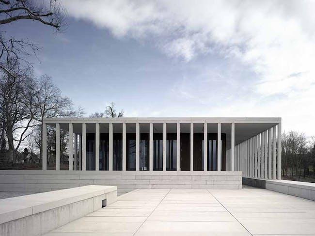 Museum of Modern Literature Marbach am Neckar; photograph © Christian Richters, from David Chipperfield Architects 2007