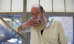 Lawrence Weiner on art, teaching and inside his LOT-EK place.