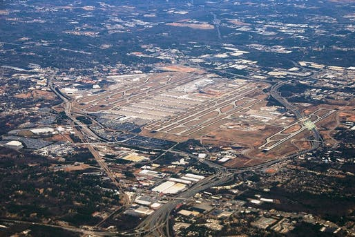 Aerial view of Hartsfield-Jackson Atlanta International Airport. Photo: Craig Butz via Wikipedia.