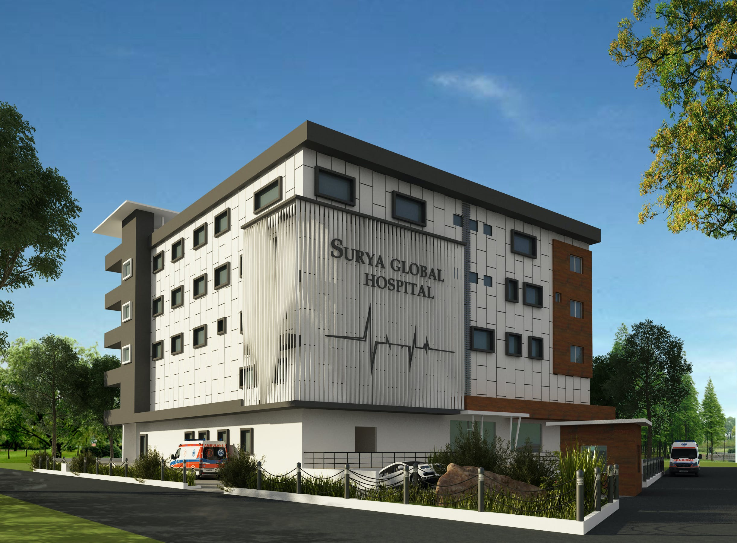 hospital at kakinada  apse design