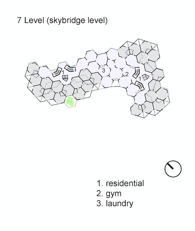 Level 7 plan. Image courtesy of Workshop XZ.
