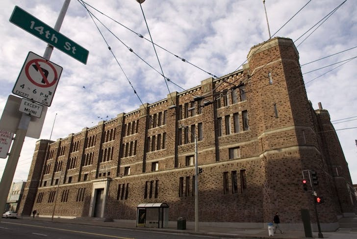 The Armory building, located in San Francisco's Mission District, is a historic structure dating back to 1912. Image courtesy Kink.com