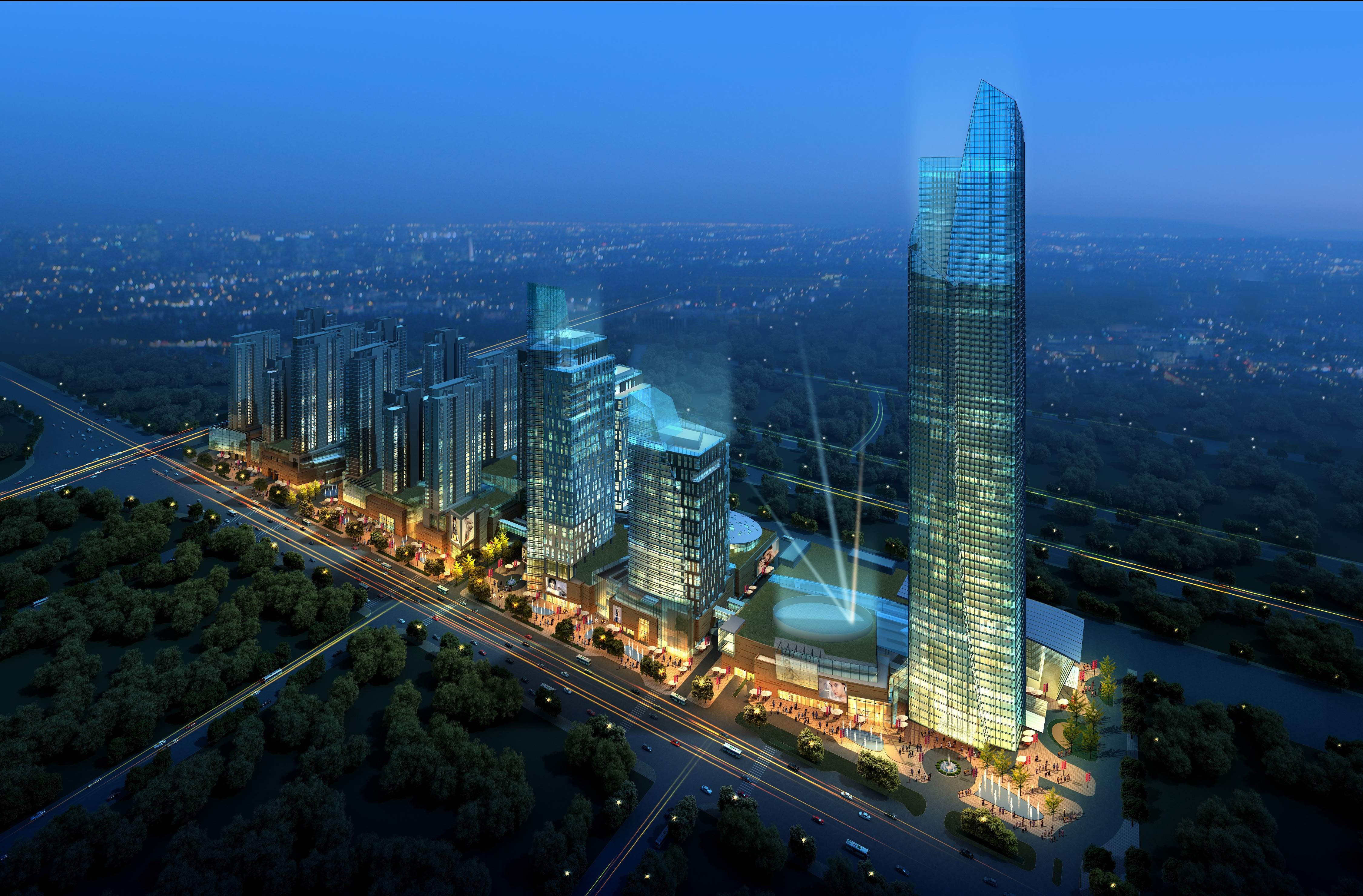 Malls In Ct >> Anshan Mixed Use Project | CSA ARCHITECTS | Archinect