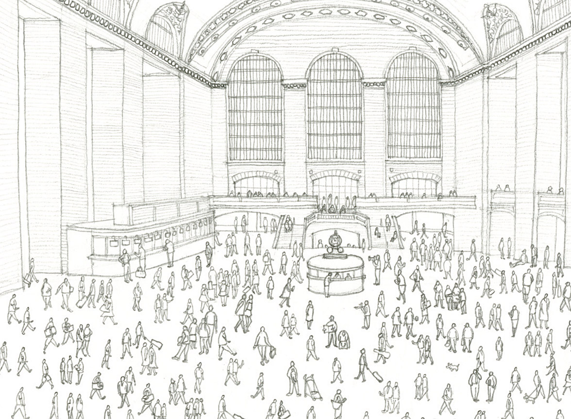 Winners of Grand Central Terminal Drawing Competition