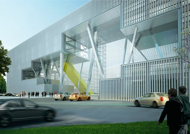 TBC BANK HQ Tbilisi © Architects of Invention Ltd. All rights reserved.