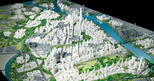 What Is Cfm >> Baietan Urban Design Master Plan | Alexander Cruz | Archinect