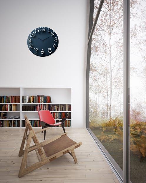 outdoor bamboo wall clock mocap bamboo wall clock by jpmeulendijks is time an illusion