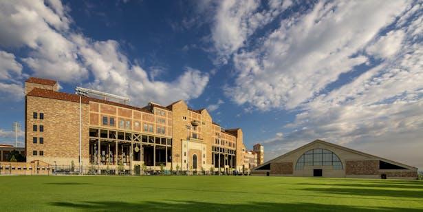 University Of Colorado Athletics >> University Of Colorado Athletics Complex Tina Townsend Poole