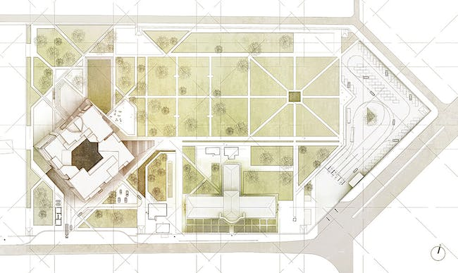 Site plan (Image: Matteo Cainer Architects)