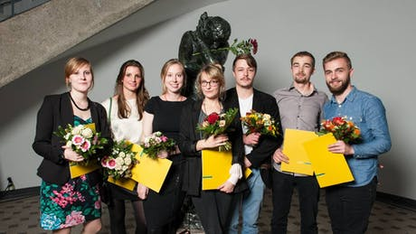 Won the Special Prize of the Faculty of Architecture for my Thesis 'Literature, Architecture and a City'