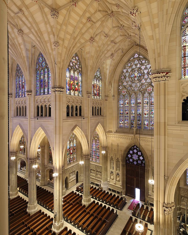 St. Patrick's Cathedral Conservation, Renovation & Systems Upgrade; New York City by Murphy Burnham & Buttrick Architects. Photo: