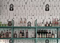 F12 Night club wallpaper design