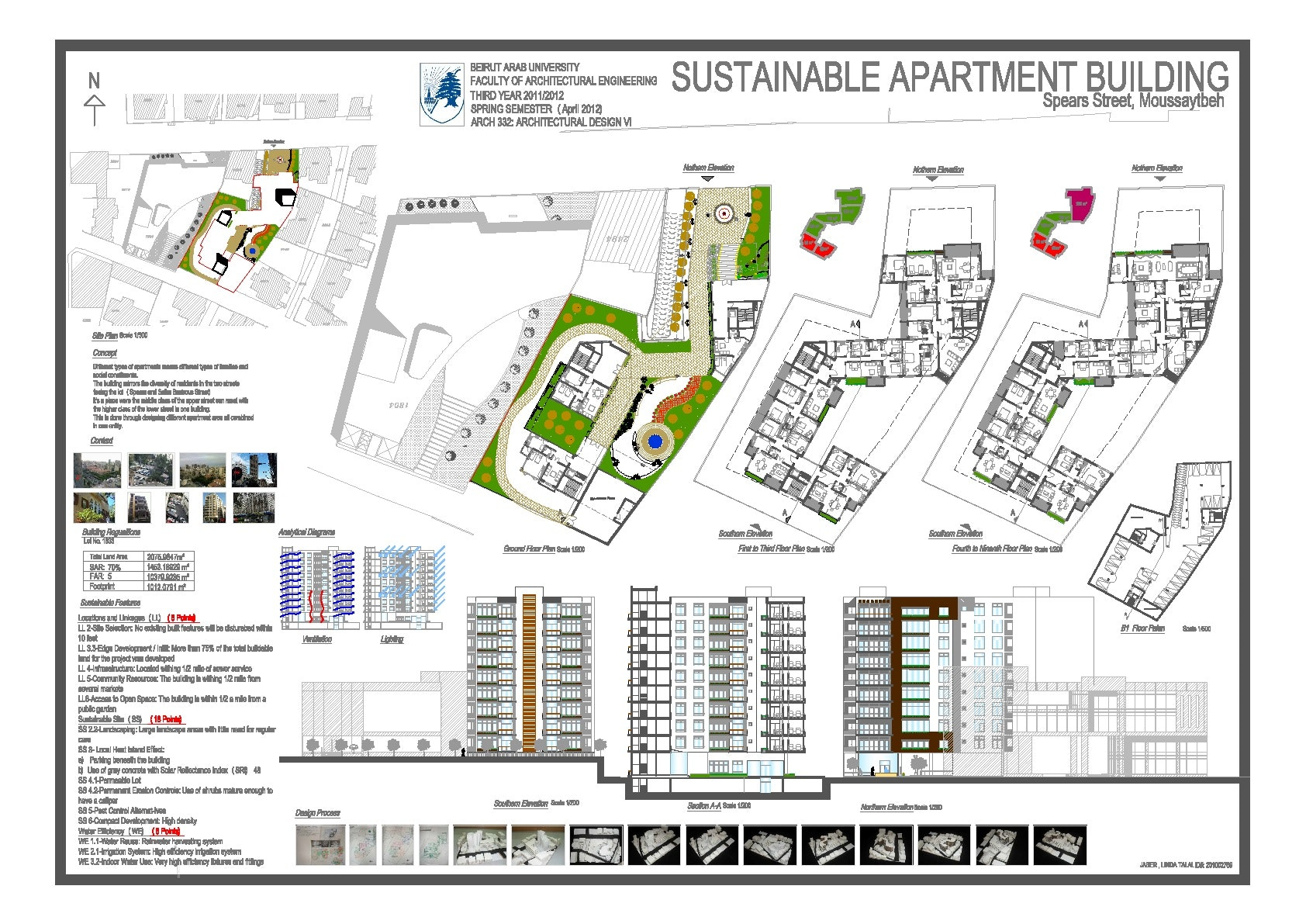 sustainable apartment building