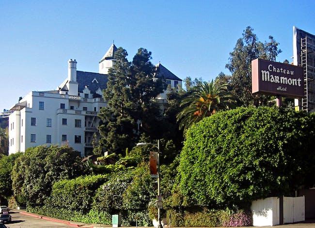 Chateau Marmont, image via Wikipedia.
