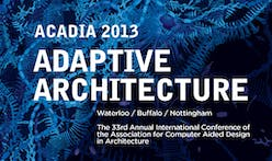 ACADIA 2013: Adaptive Architecture conference to present the latest in computational design