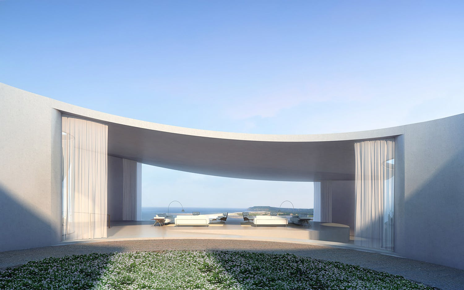 aarvli resort by serie architects starts construction in. Black Bedroom Furniture Sets. Home Design Ideas