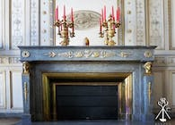 Fireplace decor - Bordeaux