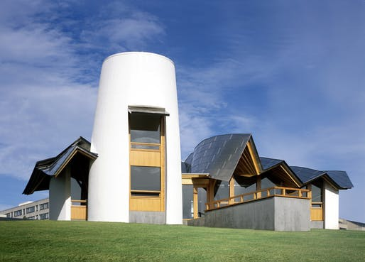 Frank Gehry designed Maggie's Centre, from the film 'Building Hope: The Maggie's Centres.' Courtesy of ADFF.