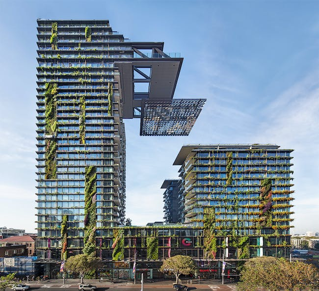 ONE CENTRAL PARK Sydney, Australia Designed by Ateliers Jean Nouvel. Photo: Murray Fredericks, courtesy of Frasers Property and Sekisui House.