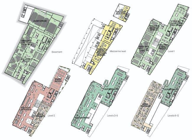 Floor plans. Image courtesy of RIBA.