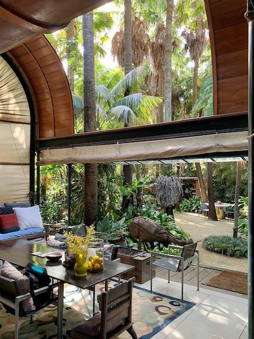 National Enduring Architecture Award: Palm Garden House, Richard Leplastrier, NSW. Photo: Kathlyn Loseby.