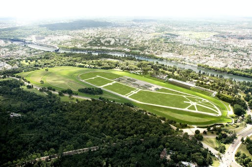 Aerial view. Photo: Adagp.