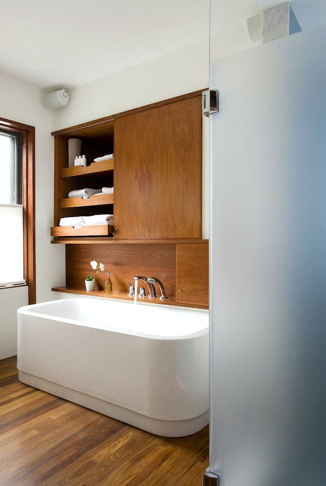 House in Brookline, MA by BUTZ + KLUG Architecture; Photo: Eric Roth Photography