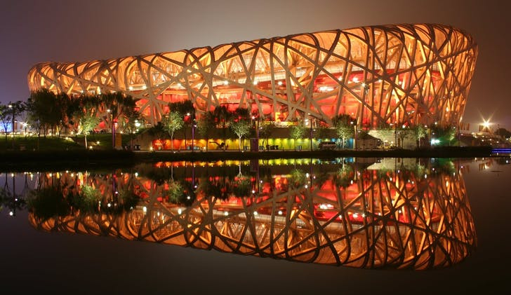 Beijing National Stadium. Photo: Wikipedia.