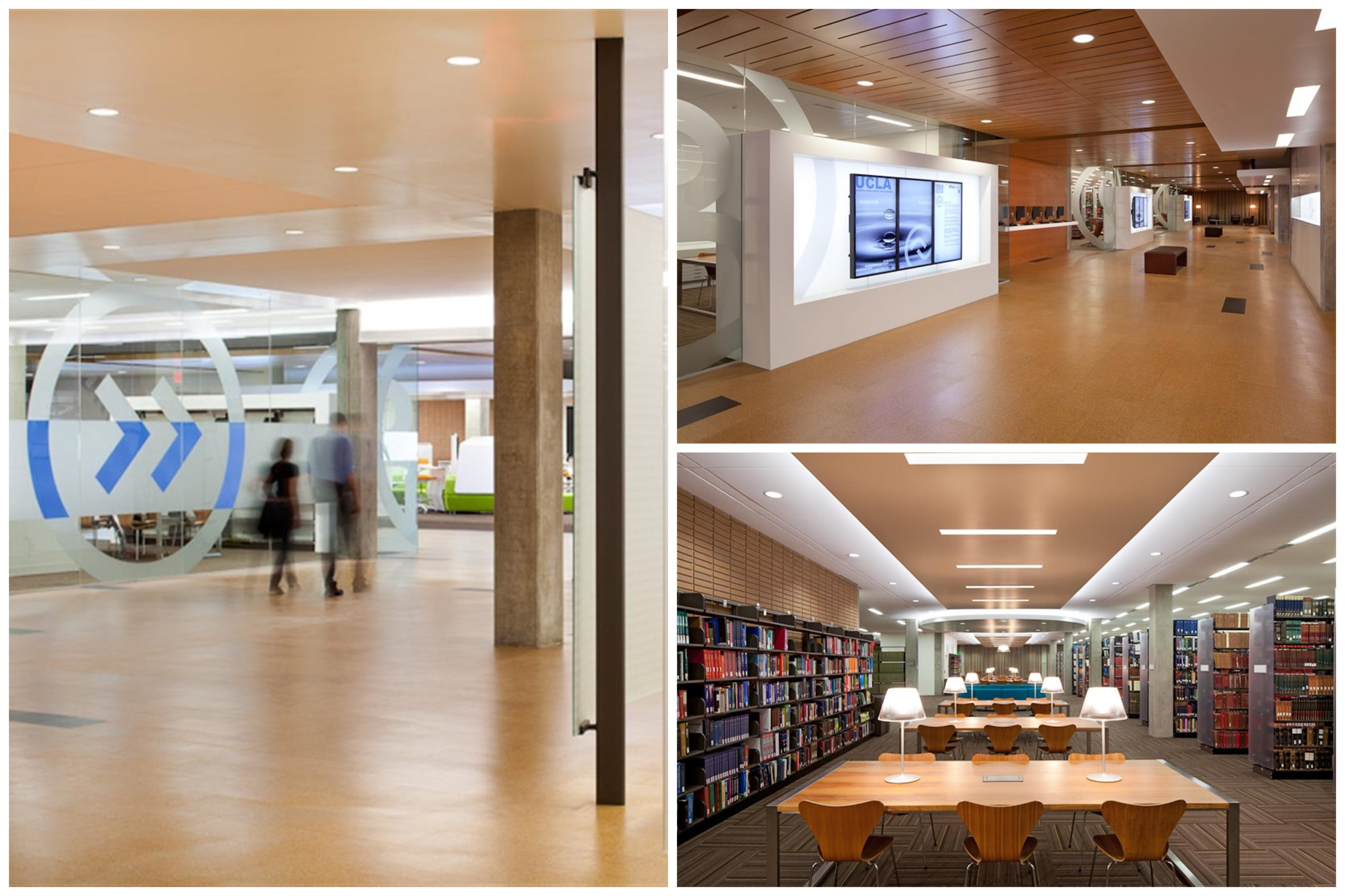 ucla charles young research library - leed gold  2012