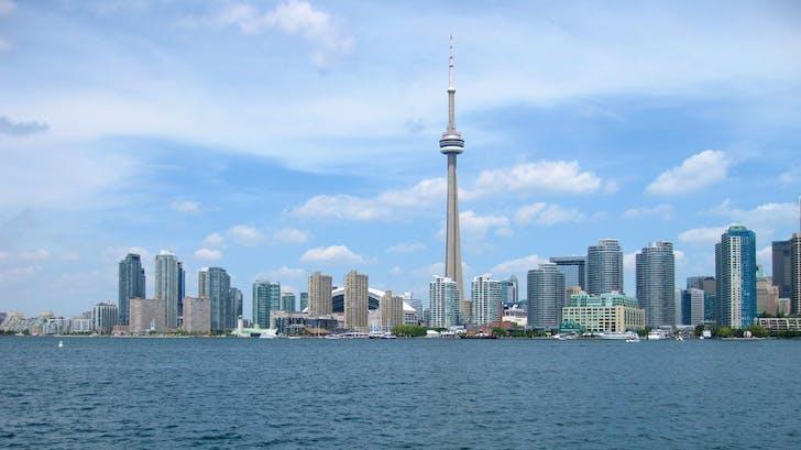 Toronto skyline, photo by elpadawan via flickr.