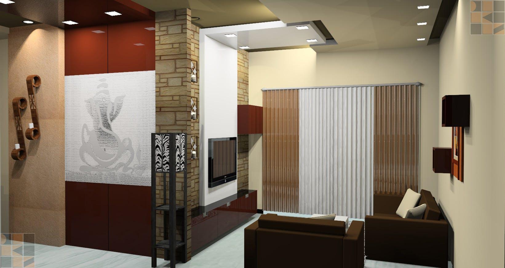 Residential interior design for mrs brindha srinivasan at for Jali wala door designs