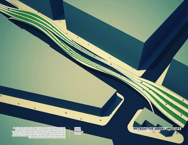 Retro-active Urban Landscape (RAUL) / 2010 IIDA Green Incheon Competition entry