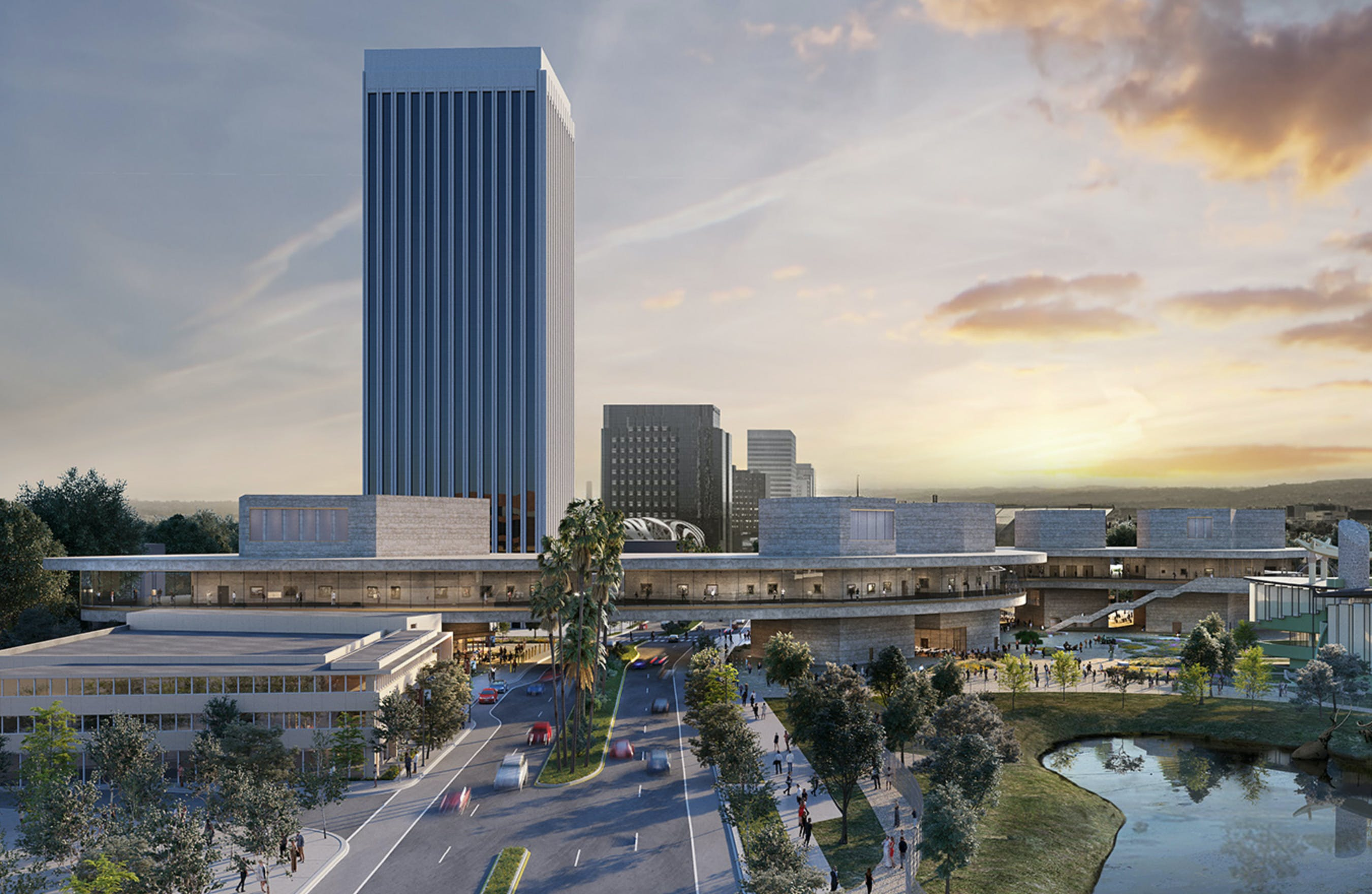 new renderings of peter zumthor s 600 million lacma redesign news