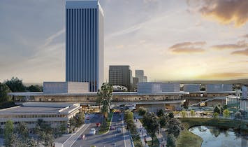 New renderings of Peter Zumthor's $600-million LACMA redesign