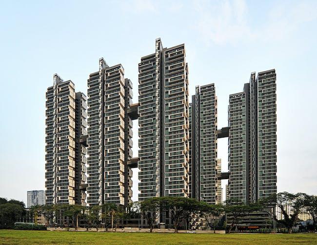 ASIA & AUSTRALIA Finalist - SkyTerrace @ Dawson. Photo © SCDA Architects Pte Ltd.