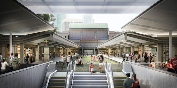 Tanjong Pagar Railway Station - © MKPL Architects