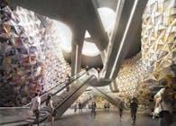 EMBT - Metro Station Paris