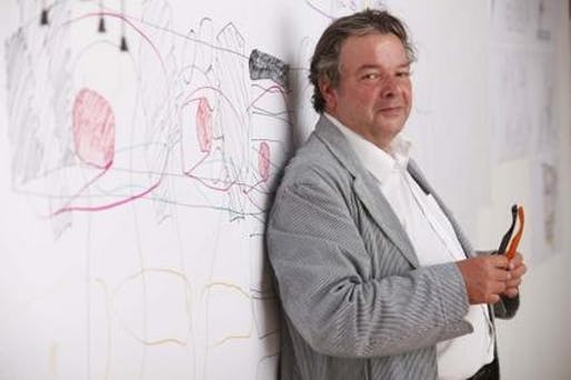 Will Alsop portrait by Jason Alden