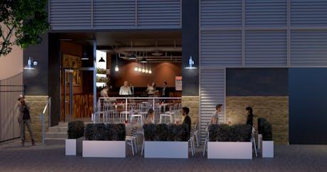 Downtown Bar | Restaurant, Los Angeles, California USA