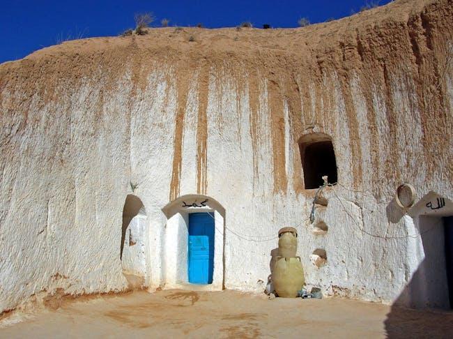 A troglodyte dwelling in Matmata. Credit: Wikipedia