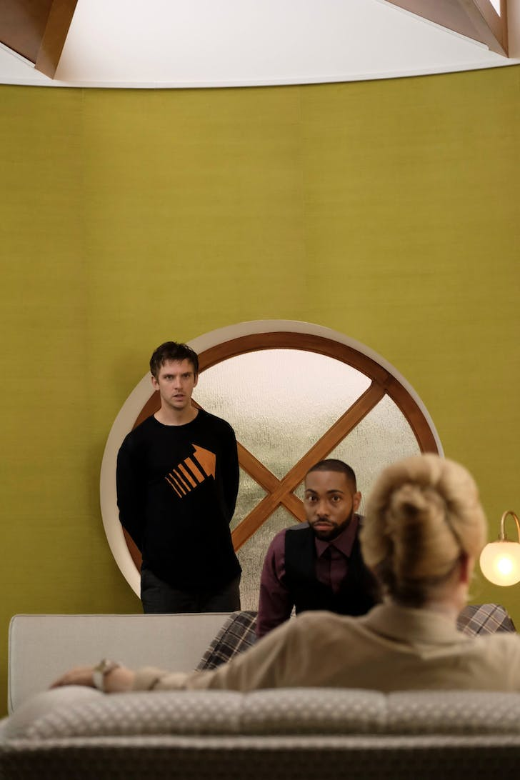 David Haller and Ptonomy Wallace (played by Jeremie Harris).