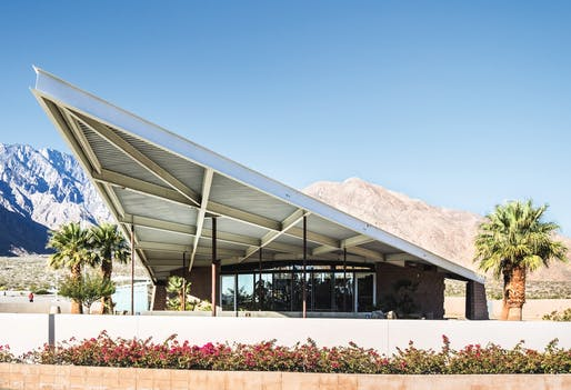 "Tramway Gas Station, from ""Mid-Century Modern Architecture Travel Guide: West Coast USA"" by Sam Lubell. Photo: Darren Bradley, courtesy of Phaidon."