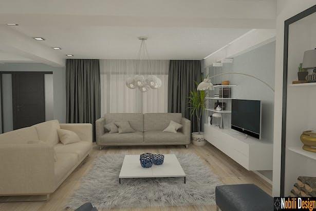 Design interior apartament modern Bucuresti - Amenajari interioare case