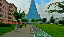 As bicycle ownership in North Korea rises, Pyongyang introduces bike lanes