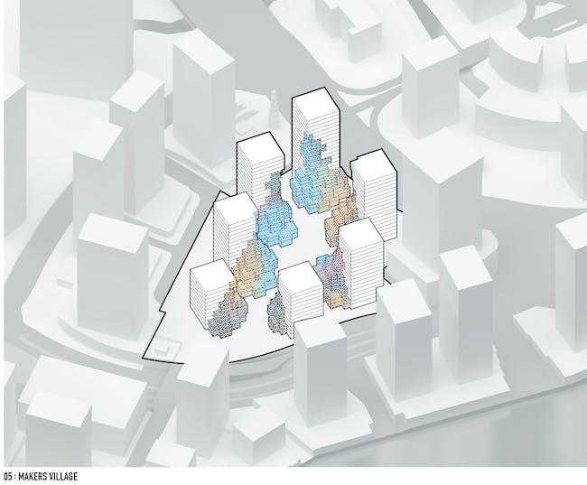 Diagrams - Pixel by MVRDV. Image © MVRDV.