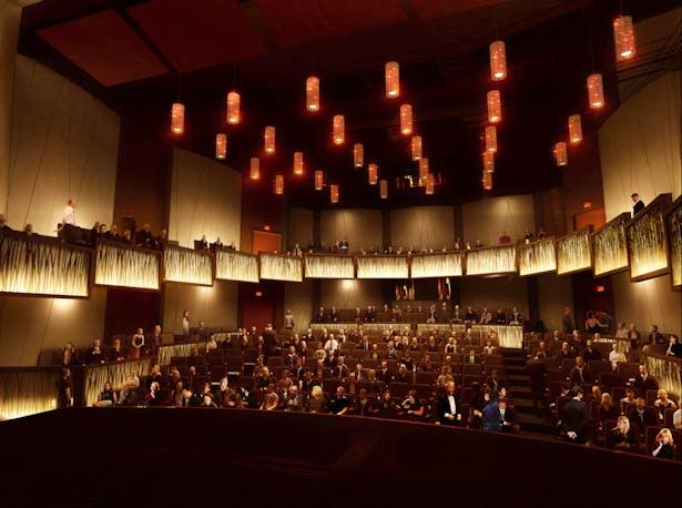 400 seat Proscenium Theater